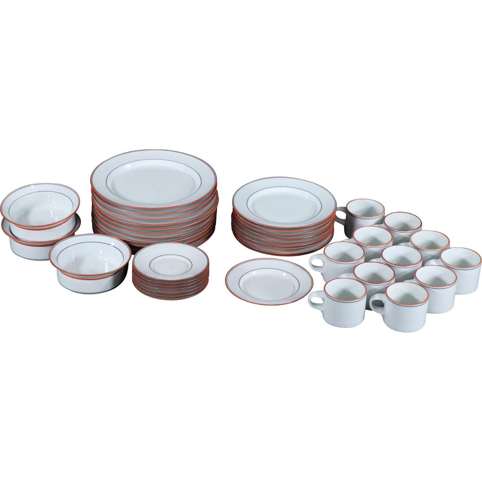 DANSK Porcelain Dinnerware Mid-Century Modern
