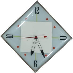 Mid-Century Electric Wall Clock - Pam Clock Co.