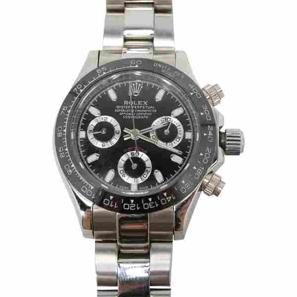Rolex 1992 Daytona 18K Gold Band Wristwatch with Box