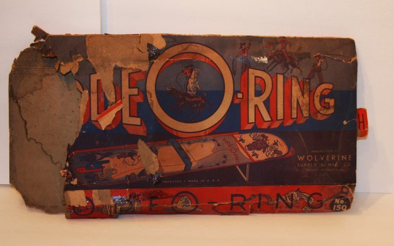 RODEO-RING Tin Game by WOLVERINE SUPPLY & MFG. CO - 10