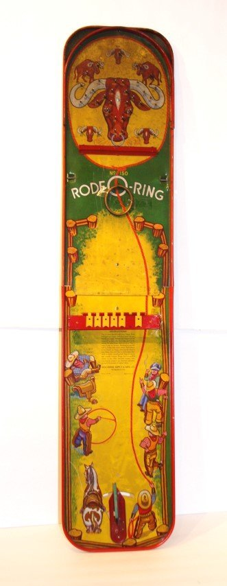 RODEO-RING Tin Game by WOLVERINE SUPPLY & MFG. CO