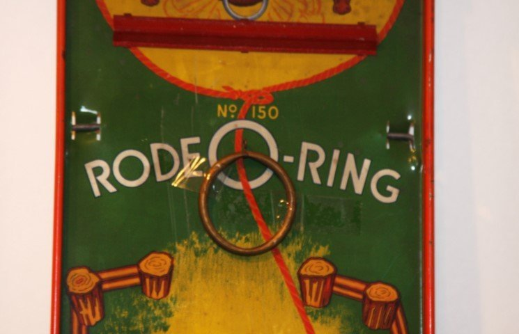 RODEO-RING Tin Game by WOLVERINE SUPPLY & MFG. CO - 4