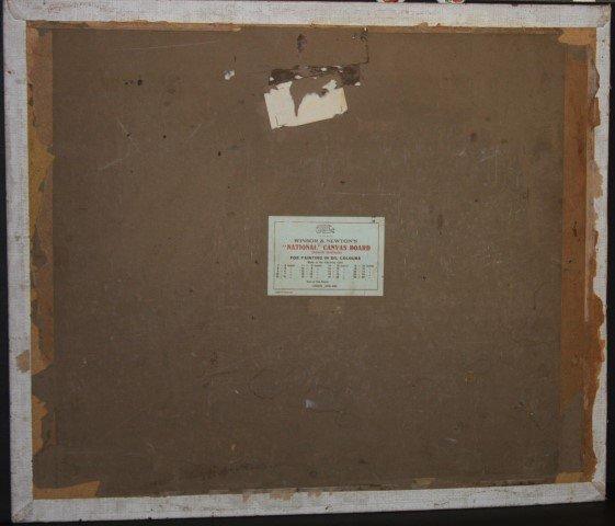 GIFFORD BEAL, 1879-1956 , oil/b, CHURCH BAZAAR - 4