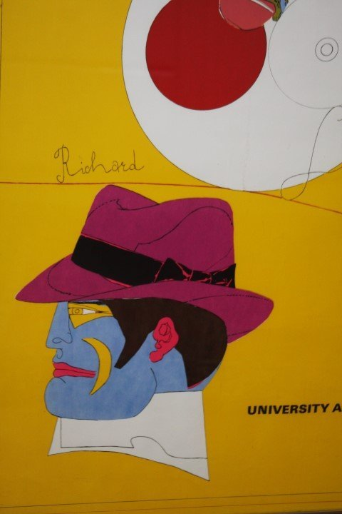 RICHARD LINDNER, 1901-1978, signed & numbered, BERKELEY - 2