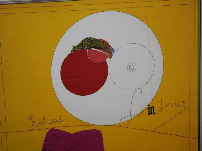 RICHARD LINDNER, 1901-1978, signed & numbered, BERKELEY - 3