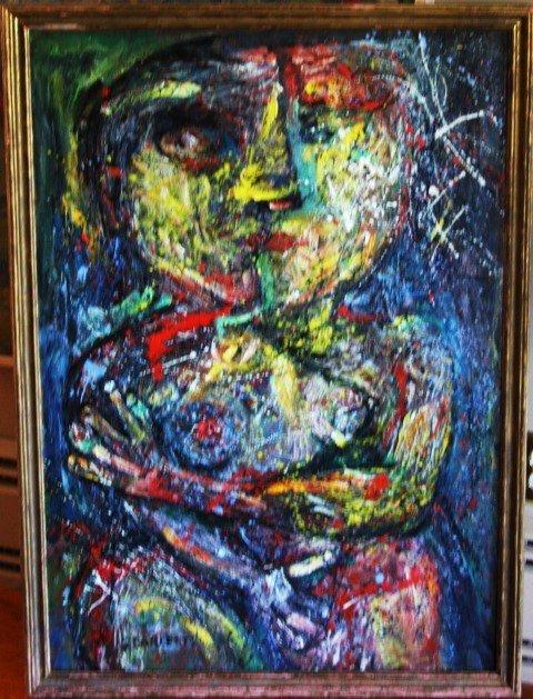 ROLPH SCARLETT 1889-1984, o/c, Two Nudes
