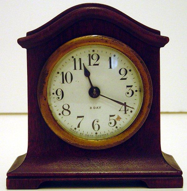 1: SETH THOMAS 8 DAY CLOCK