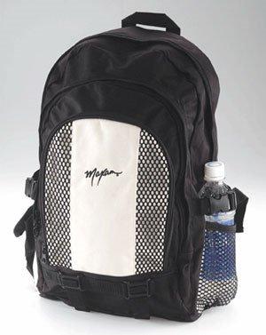 1008: Maxam® Black and Tan Backpack FREE SHIPPING