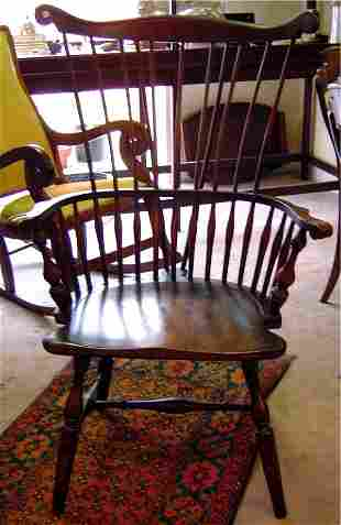 20TH C. NEW ENGLAND WINDSOR CHAIR WALLACE NUTTING