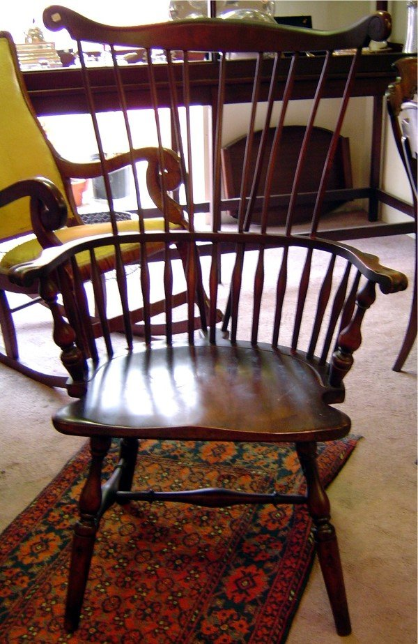 3007: 20TH C. NEW ENGLAND WINDSOR CHAIR WALLACE NUTTING