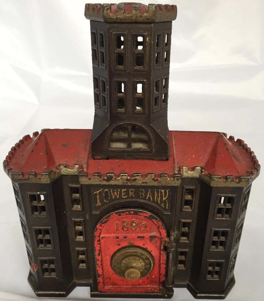 Mechanical 1890 metal tower bank