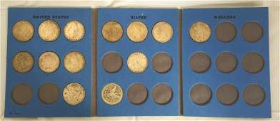Lot of US Silver Dollars Various Dates