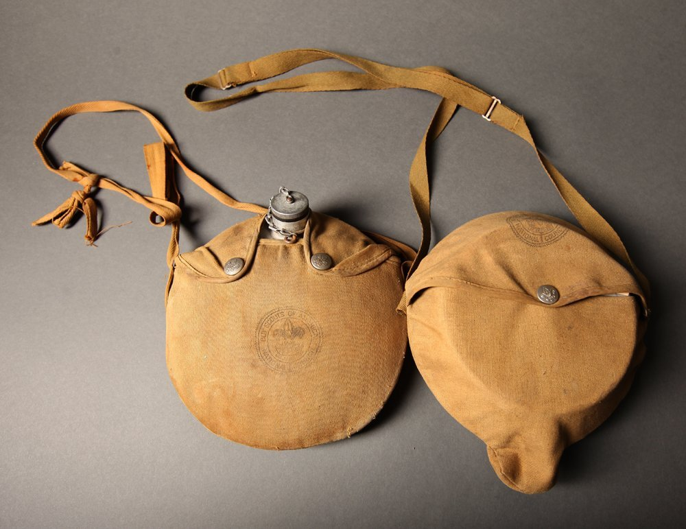 Vintage Boy Scout Mess Kit and Canteen