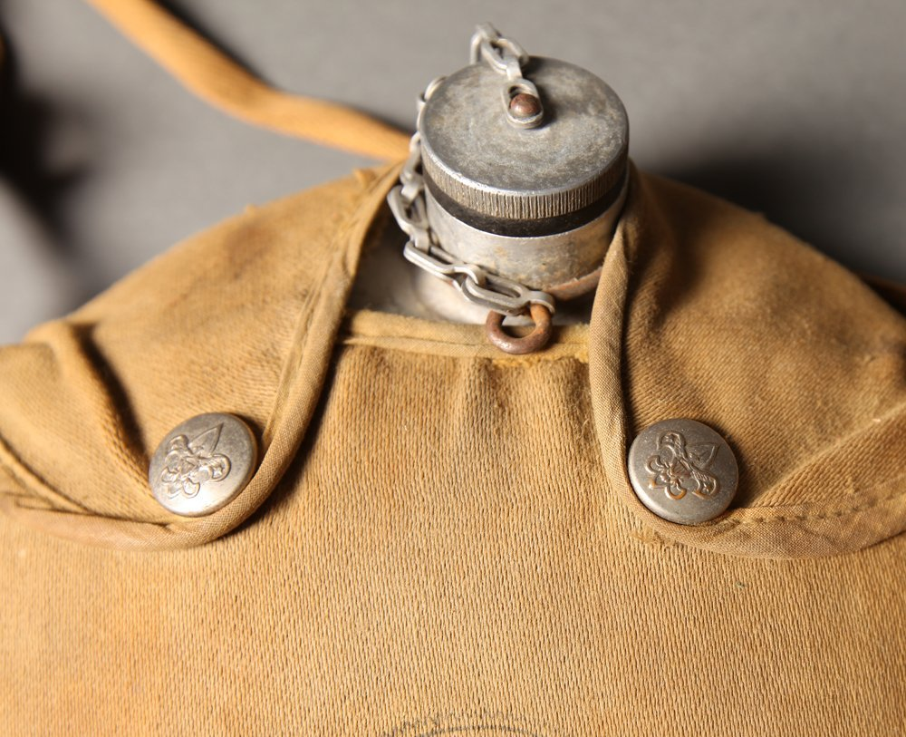 Vintage Boy Scout Mess Kit and Canteen - 3
