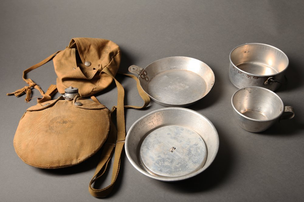 Vintage Boy Scout Mess Kit and Canteen - 4