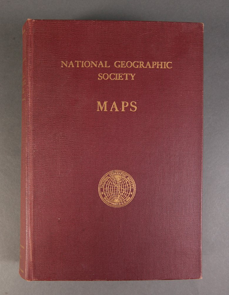 1940's-50's National Geographic Society Maps