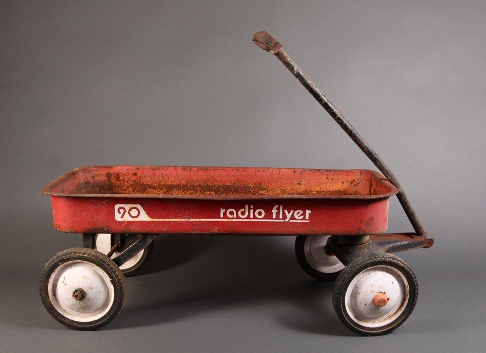 1950's Radio Flyer Wagon