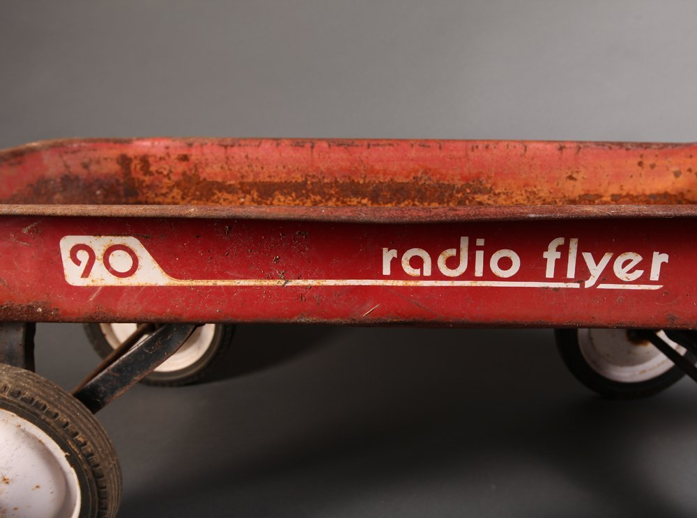 1950's Radio Flyer Wagon - 2