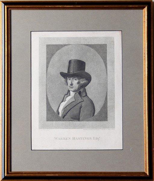 George Stubbs Framed Engraving