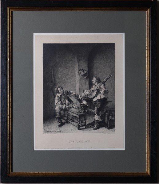 Georges Petit Engraving after Meissonier