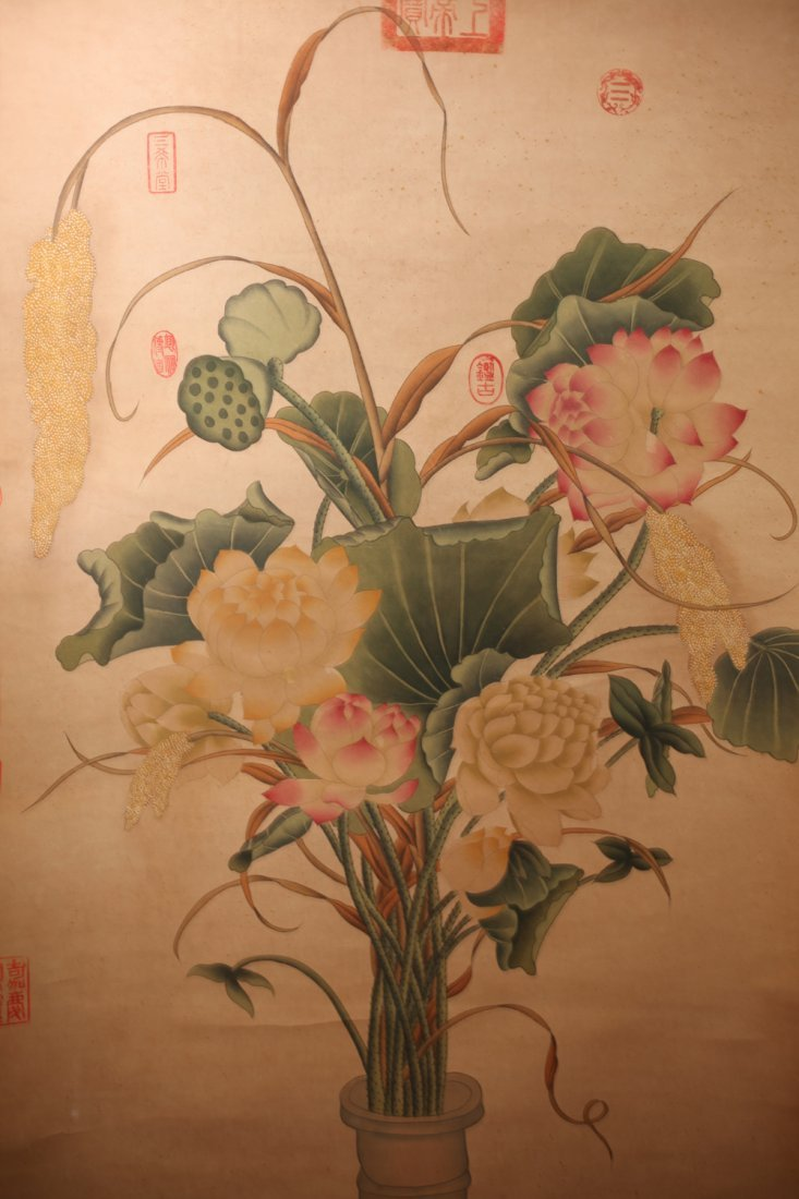 Chinese Watercolor Scroll Painting - 2