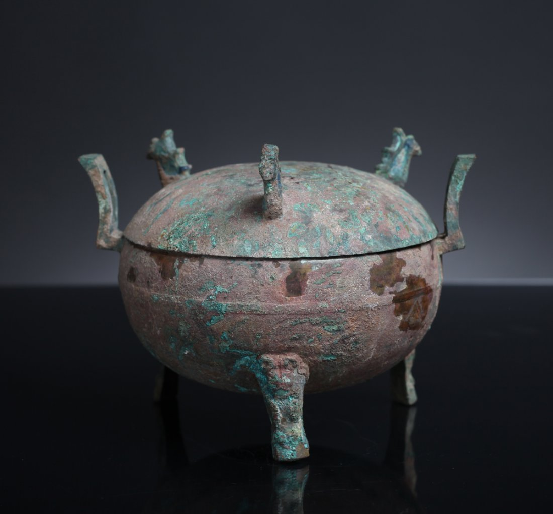 Chinese Warring States Bronze Ding