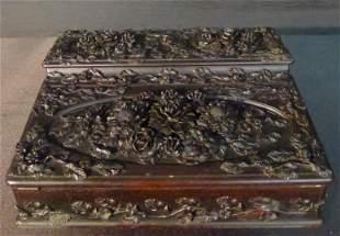 Very ornate Victorian lap desk