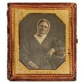 Daguerreotype (Portrait of a Lady), c. 1845–50