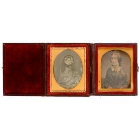 2 Small Daguerreotypes, c. 1845–50