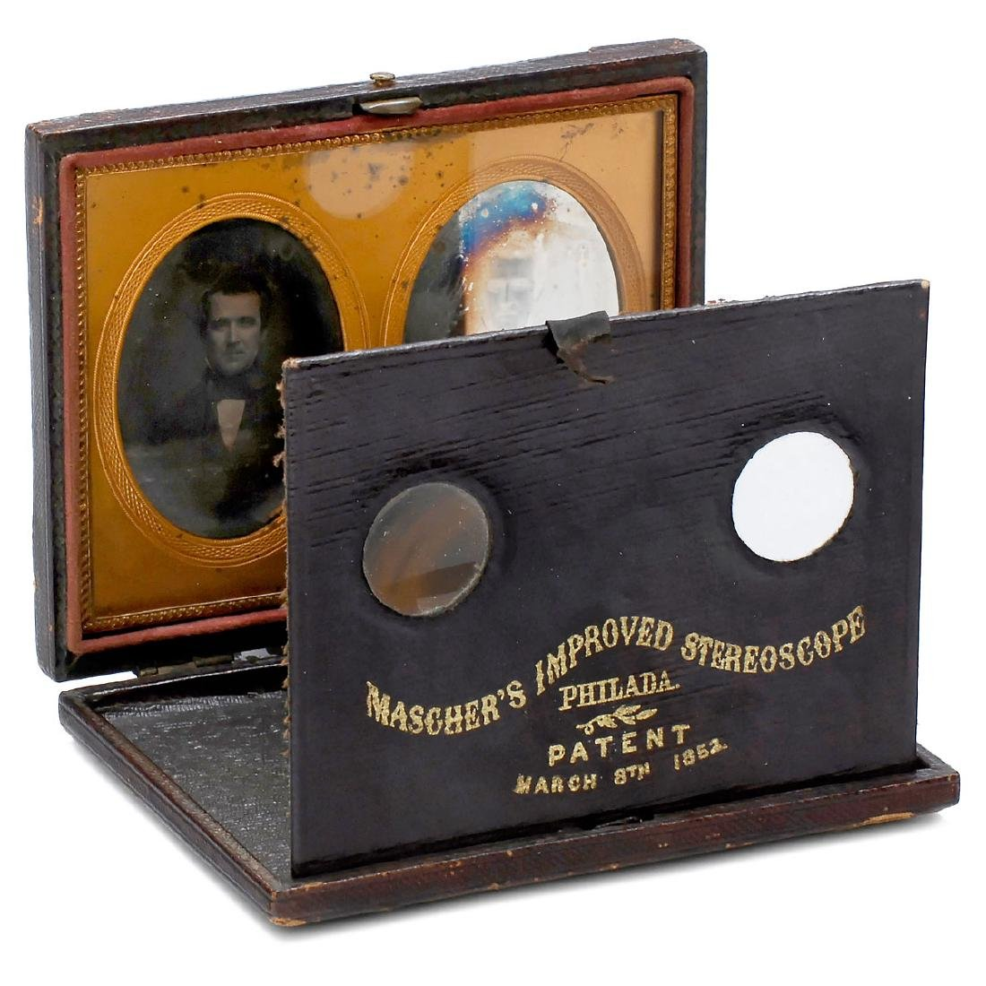 "Stereo-Daguerreotype in ""Mascher's Improved"