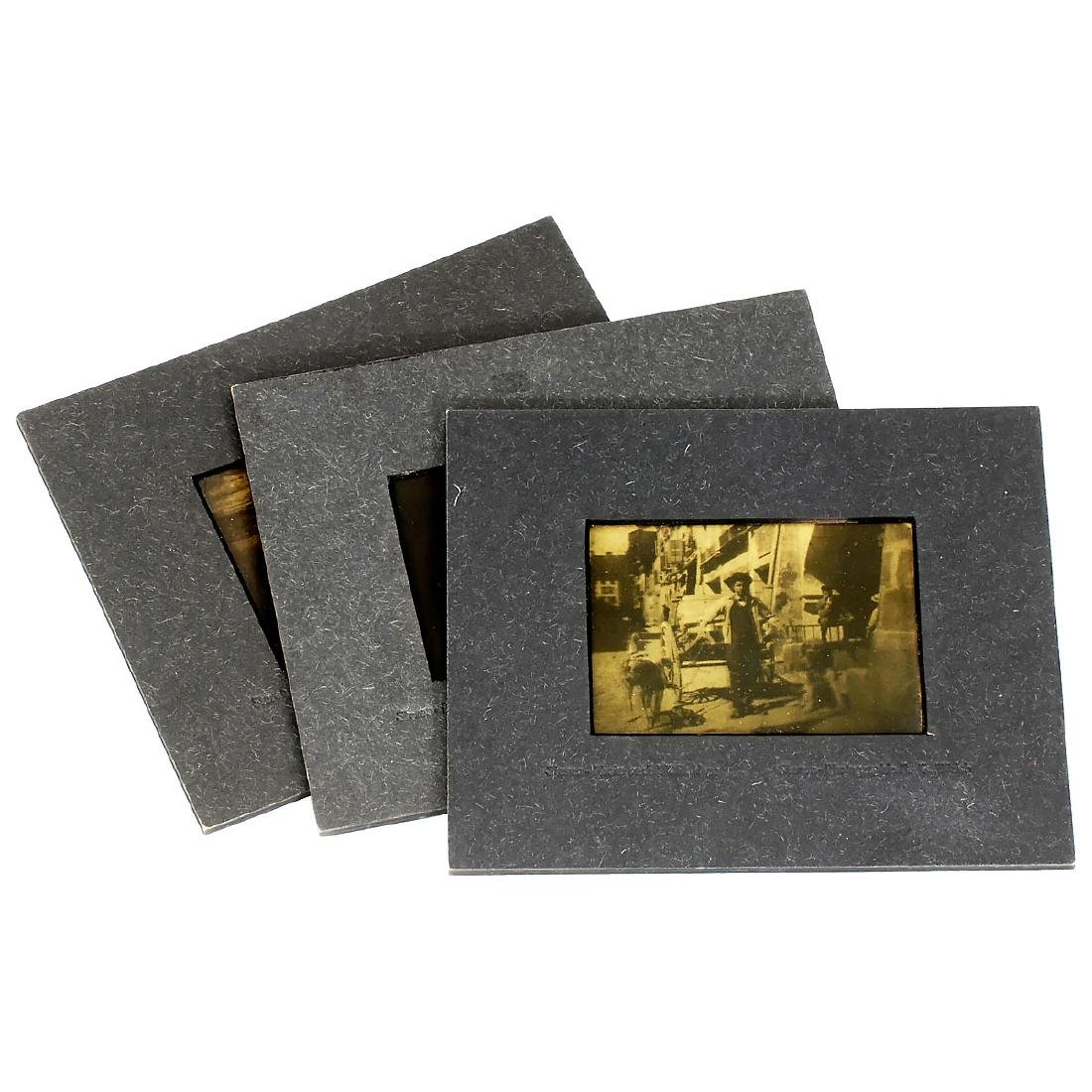 3 x 3D Lenticular Picture by W.R. Hess, c. 1912 - 2