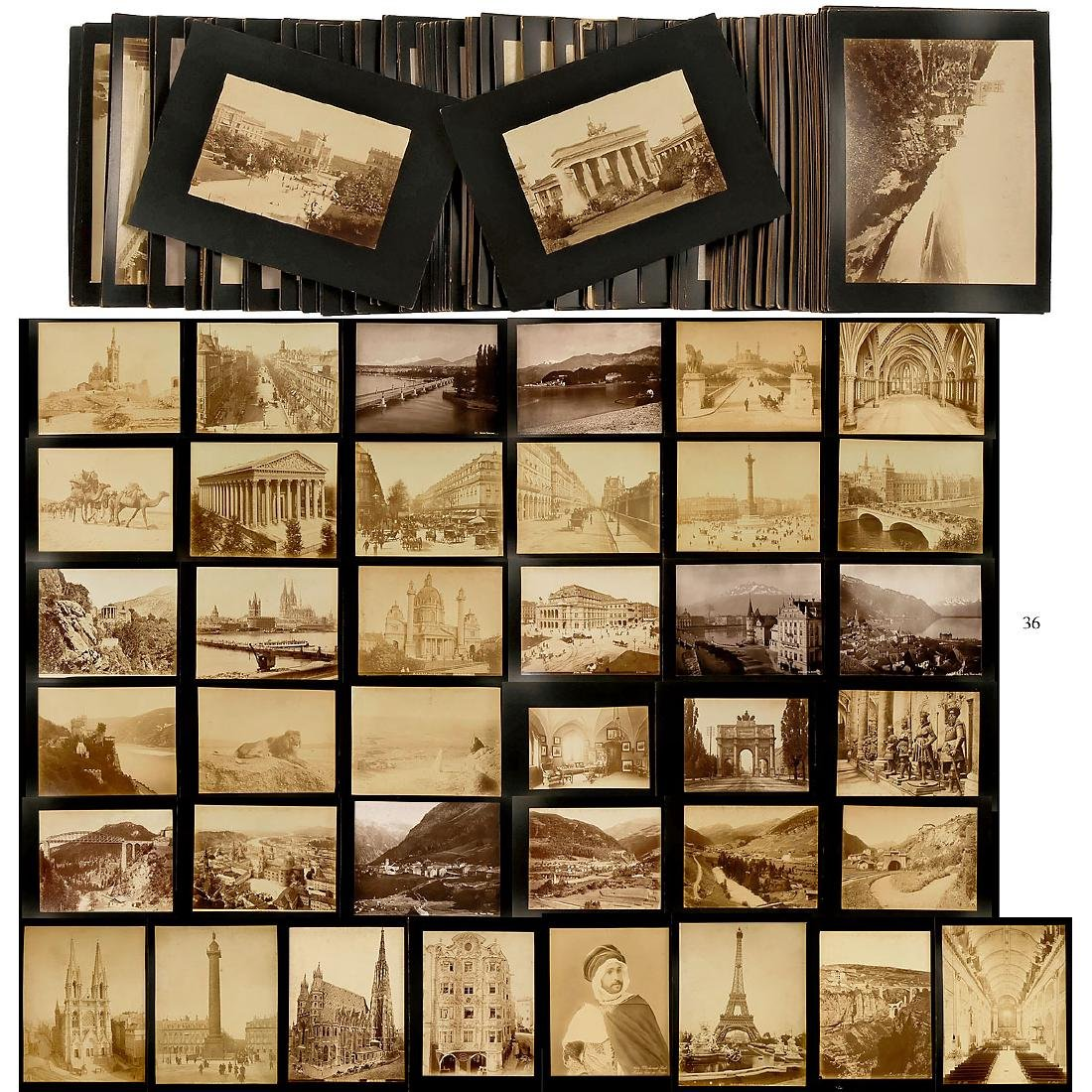 Approx. 195 Original Vintage Pictures for Viewer,  c.