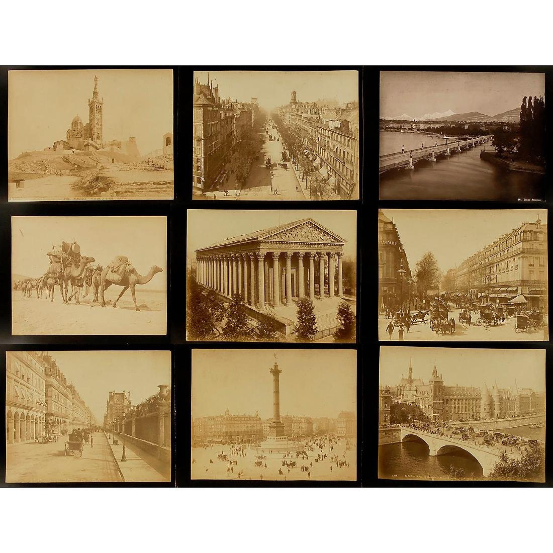 Approx. 195 Original Vintage Pictures for Viewer,  c. - 2