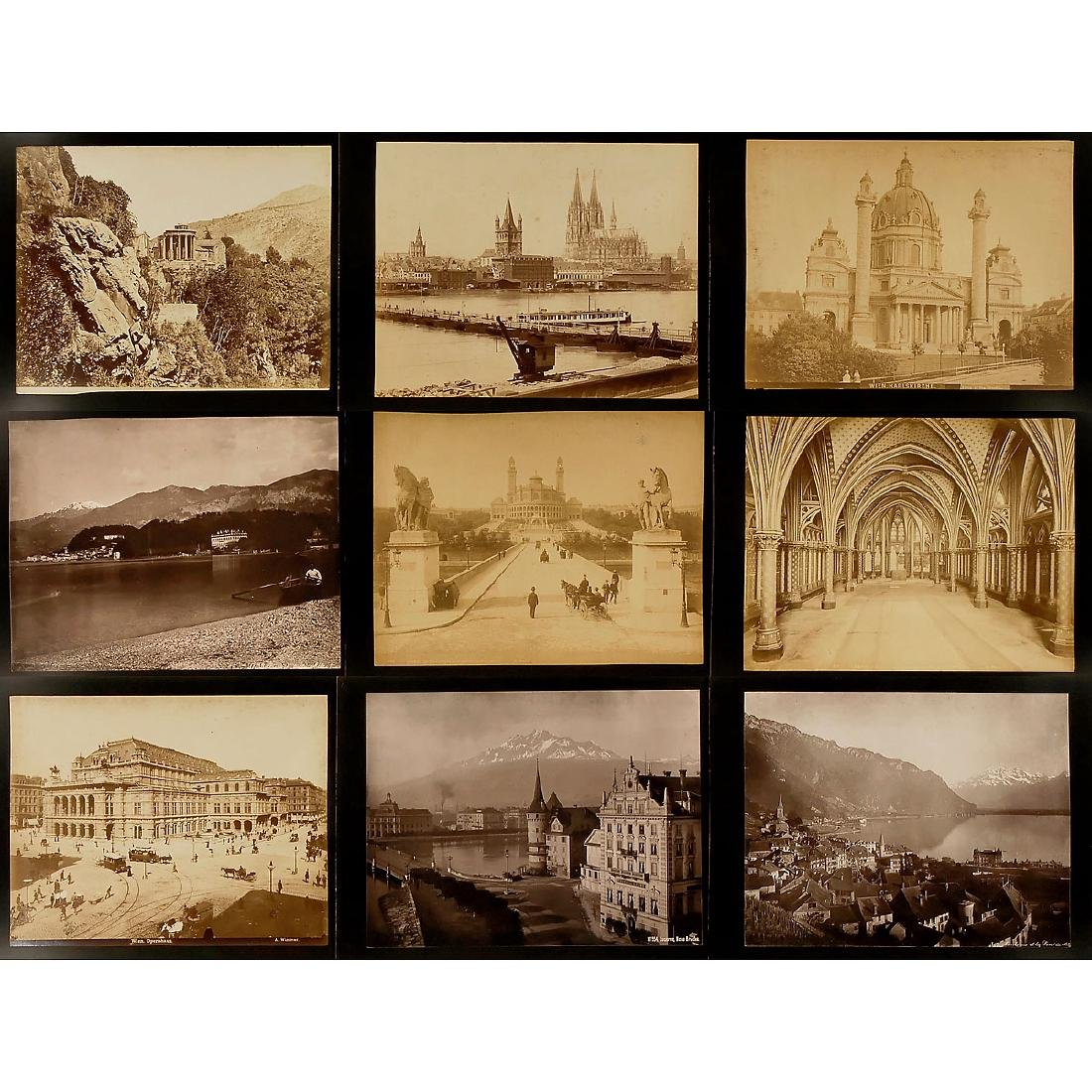 Approx. 195 Original Vintage Pictures for Viewer,  c. - 3