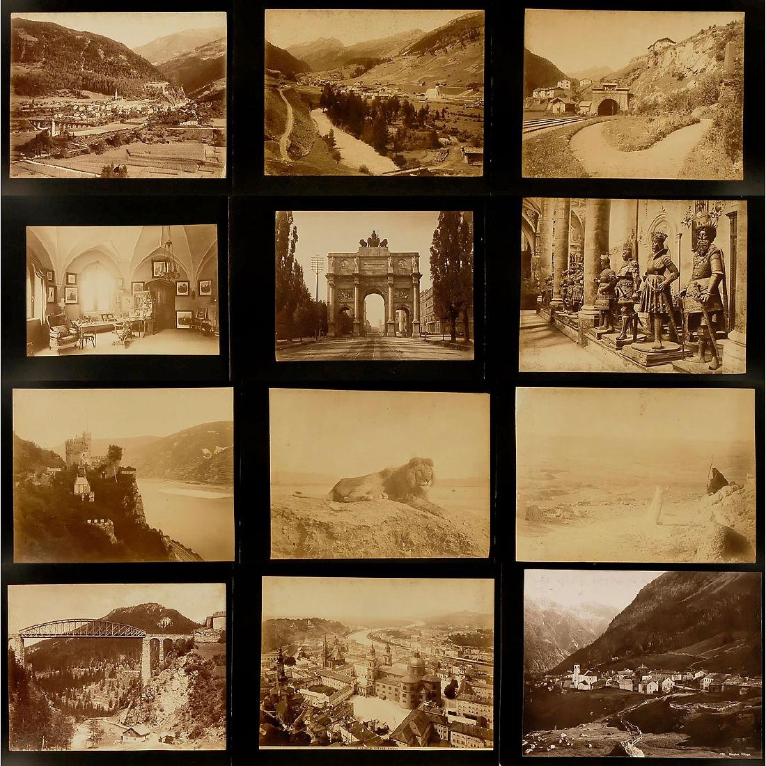 Approx. 195 Original Vintage Pictures for Viewer,  c. - 4
