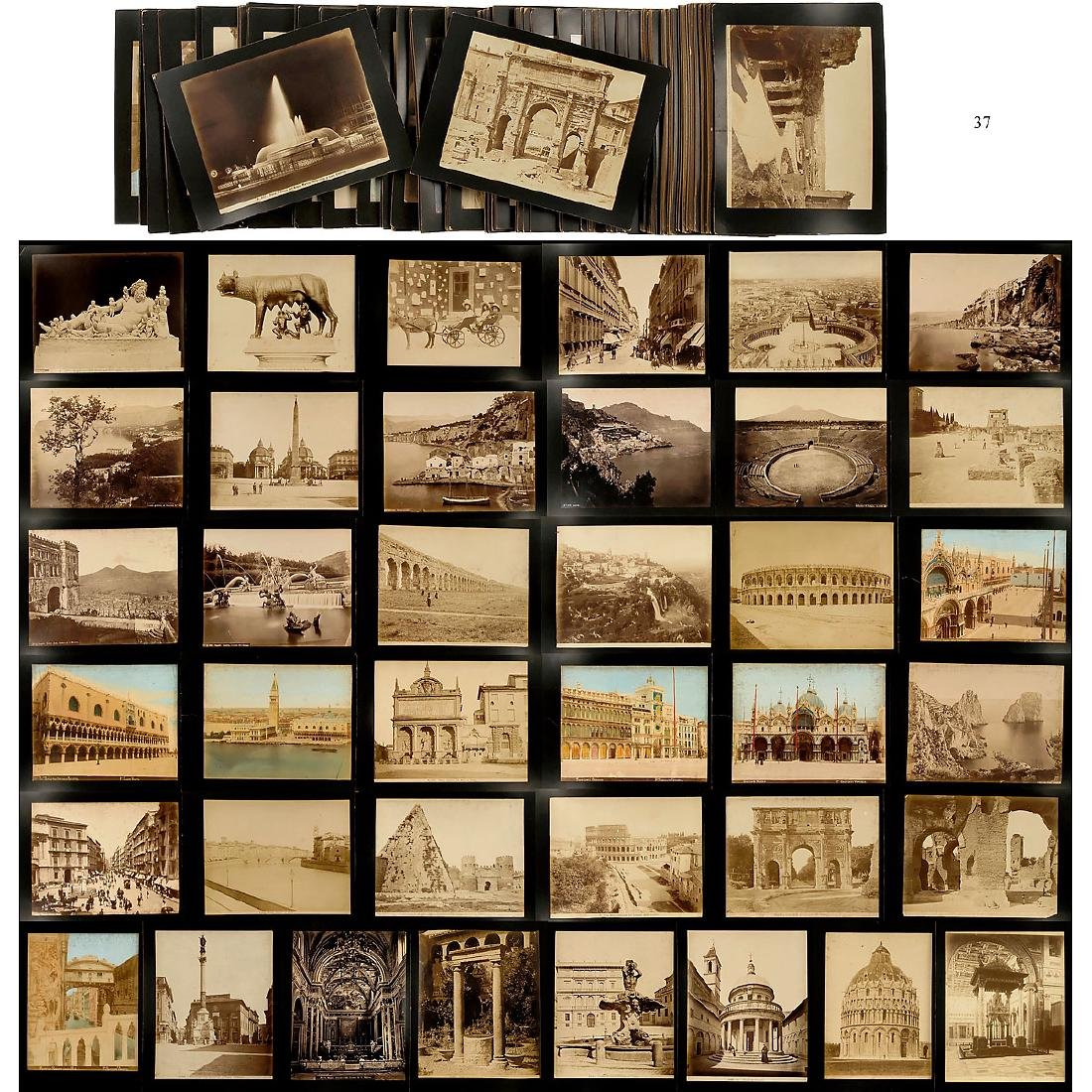 Approx. 160 Original Vintage Pictures for Viewer, c.
