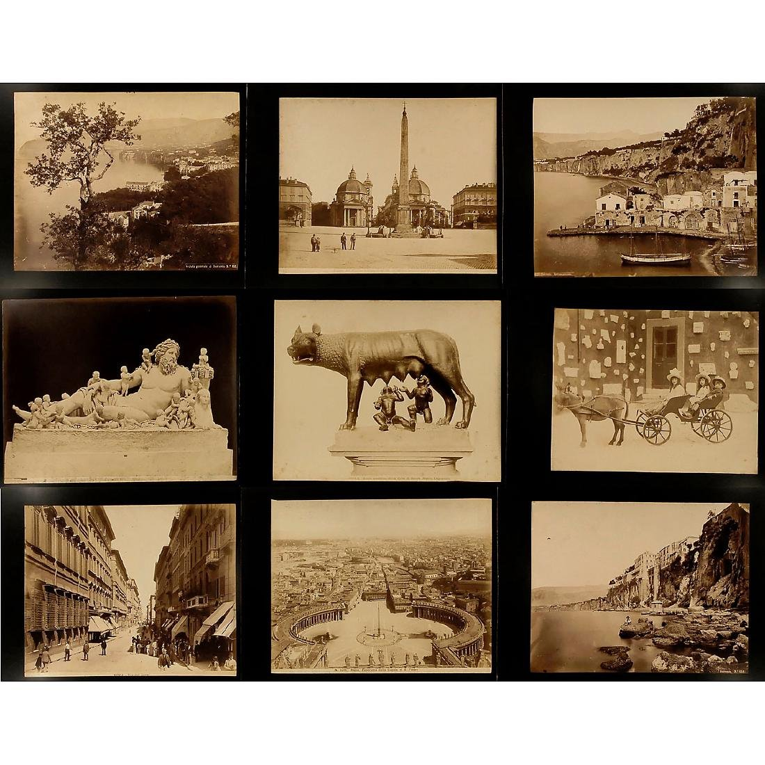 Approx. 160 Original Vintage Pictures for Viewer, c. - 2