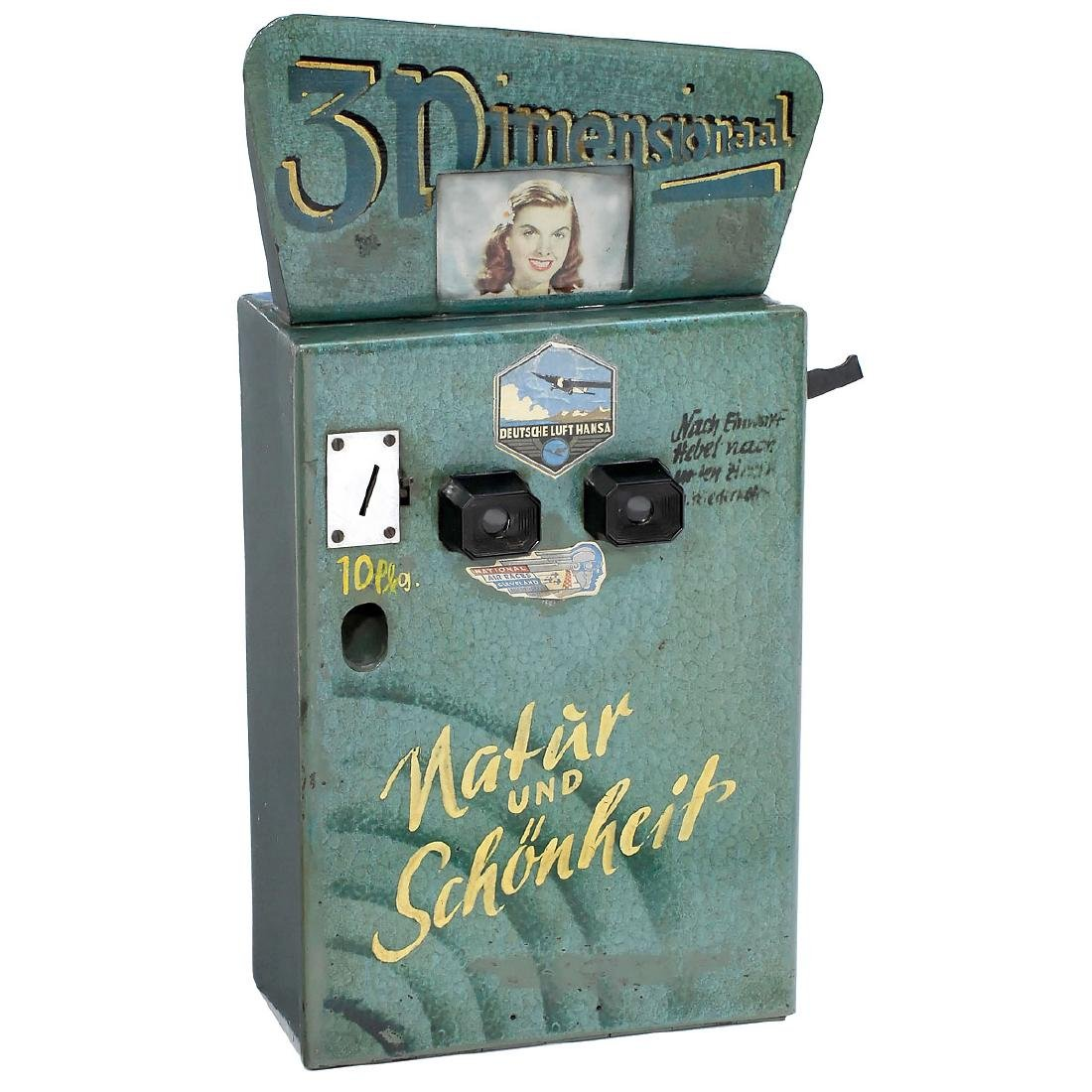 Coin-Operated Stereo Viewer (View-Master), c. 1945–55 - 2
