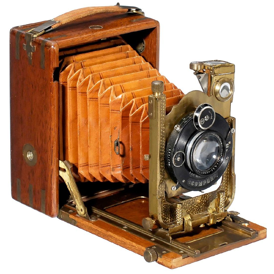 """Neugold"" Tropen-Photoklapp Camera, c. 1925"