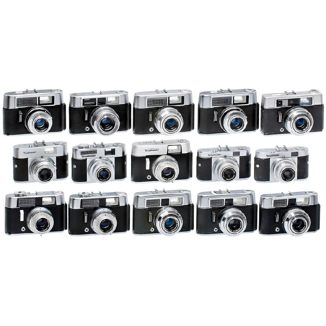15 Mixed Vito Cameras by Voigtländer
