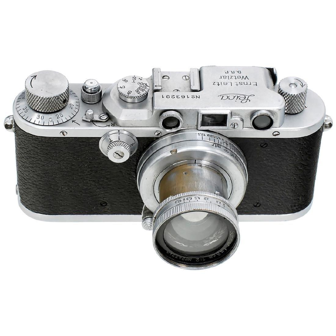 Leica IIIa (G) with Summar 2/5 cm, 1935