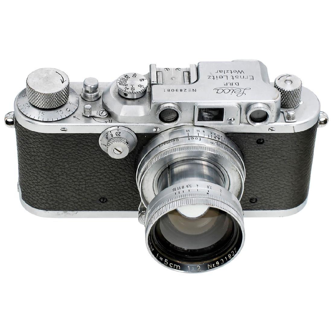 Leica IIIb with Summitar 2/5 cm, 1938