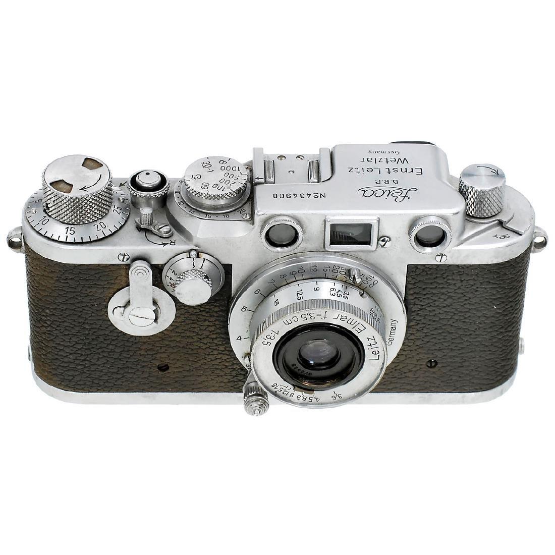 Leica IIIc (IIIf) with Elmar 3,5 cm, 1946