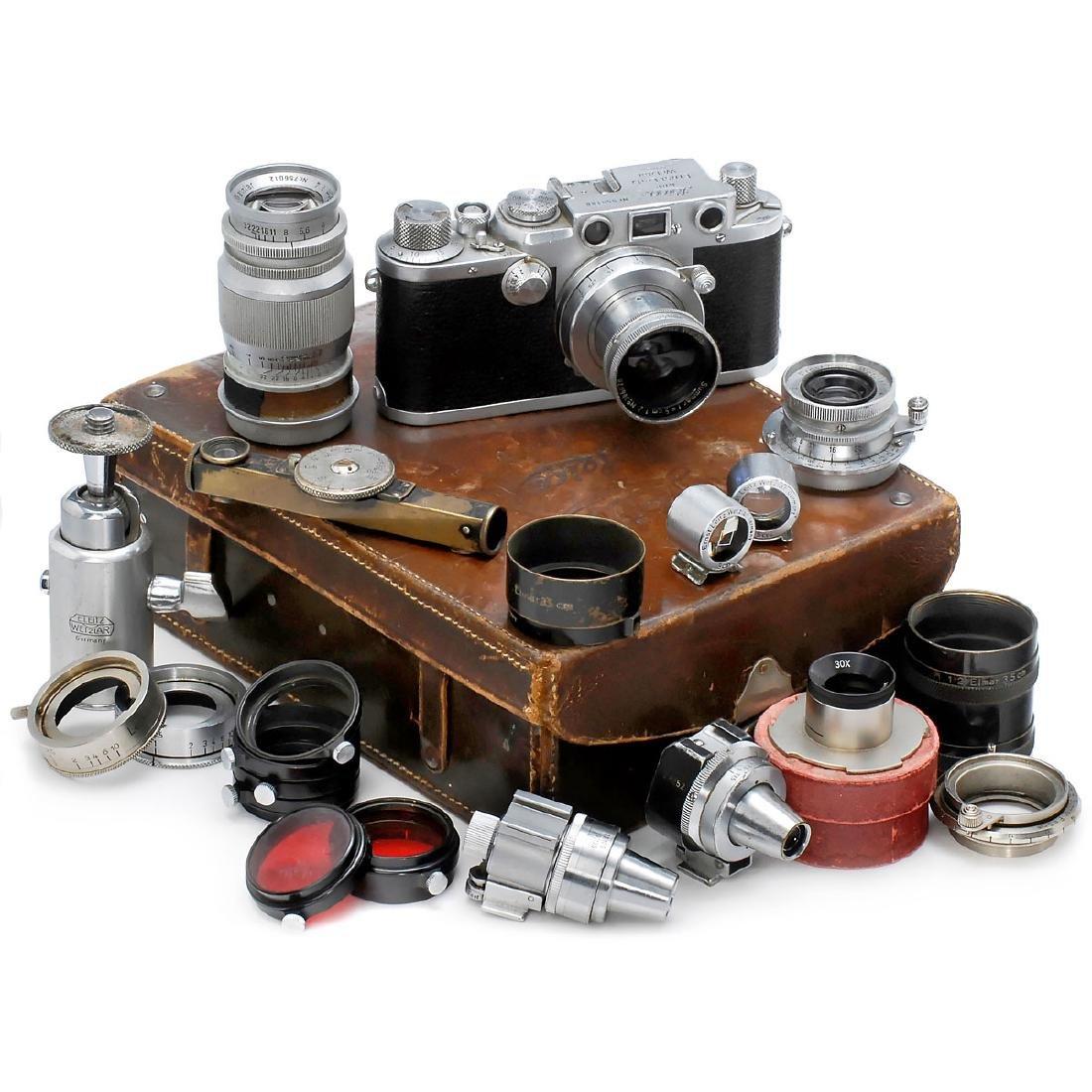 Leica IIIf Outfit of the Photo Journalist Peter Fischer - 2