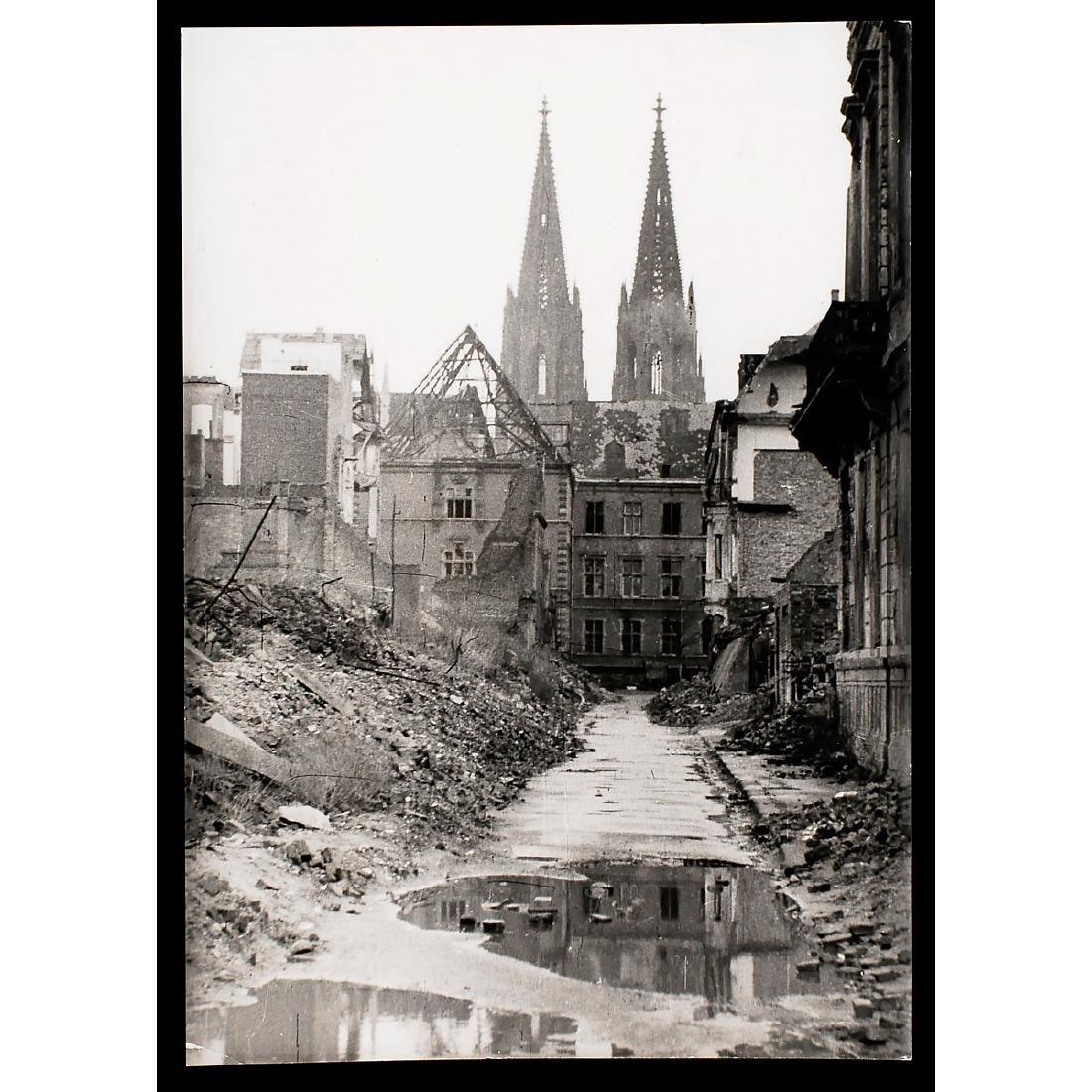 """Peter Fischer, Cologne: """"Ursulagartenstrasse"""","""