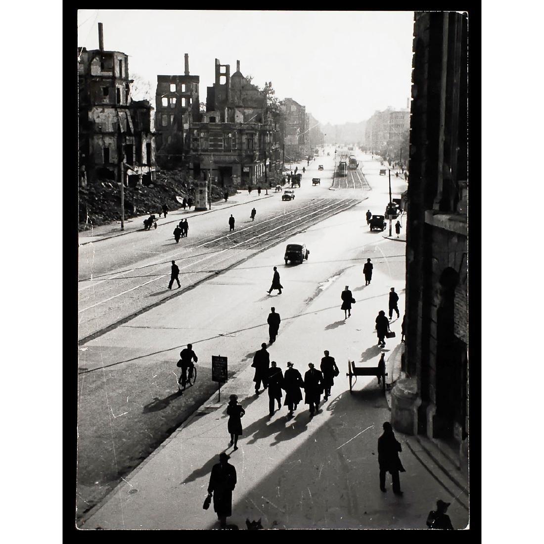 """Peter Fischer, Cologne: """"Kölner Ringstrasse"""", 1945"""