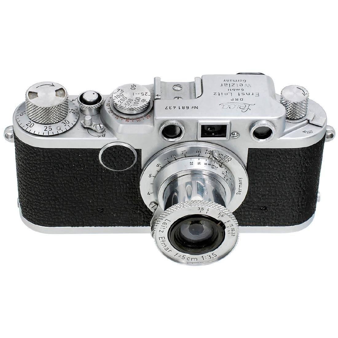 Leica IIf with Elmar 3,5/5 cm, 1954