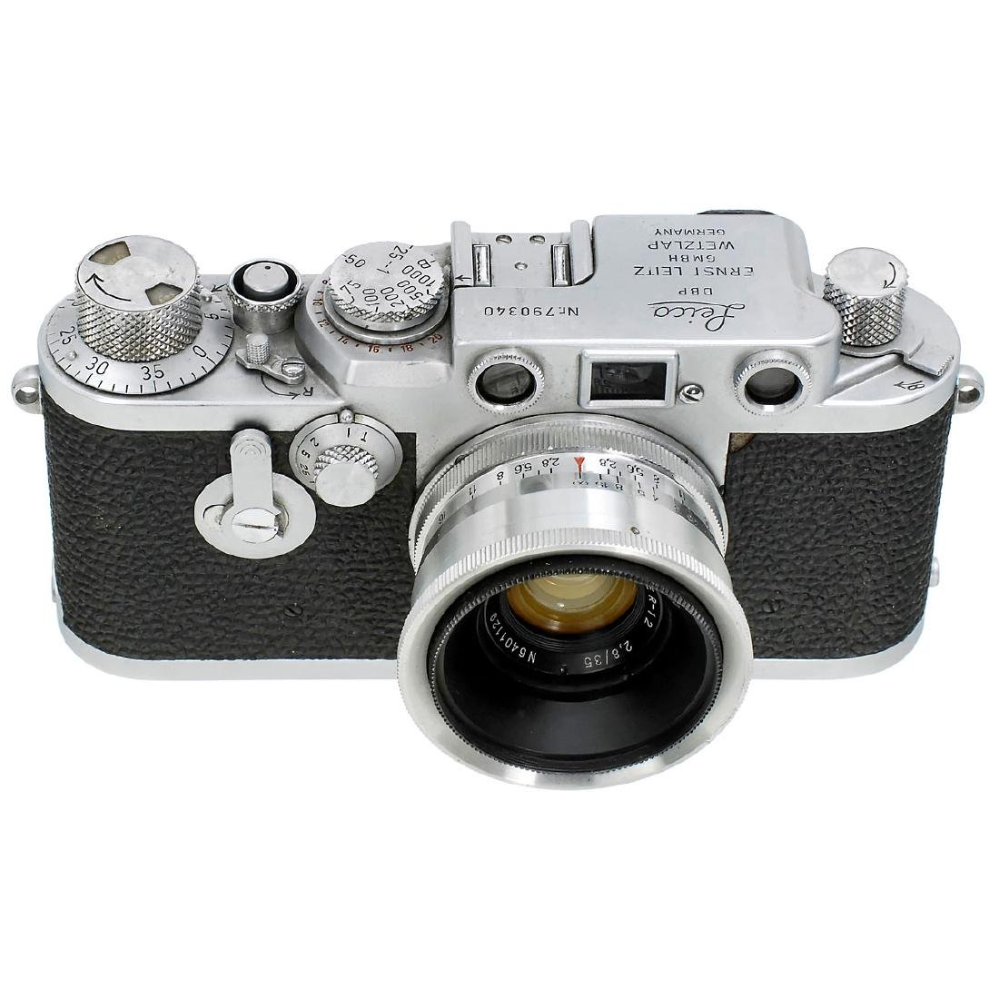 Leica IIIf with Jupiter-12 2,8/35, 1955