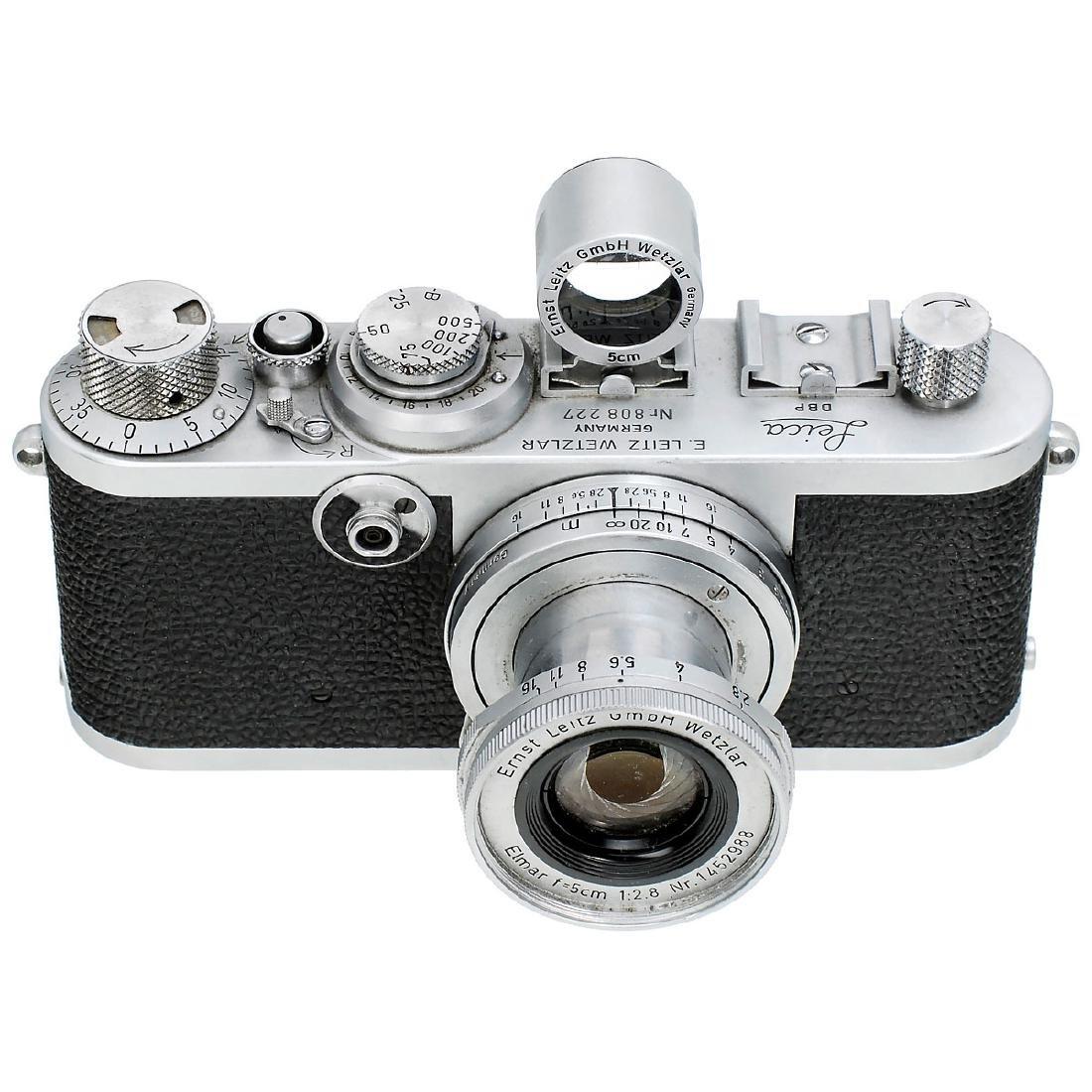 Leica If (Black-Dial Synchronization) with Elmar 2,8/5