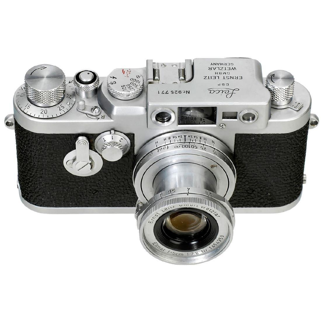 Leica IIIg with Elmar 2,8/5 cm, 1958
